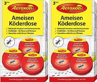 AEROXON Latas de trampa para hormigas 2x3