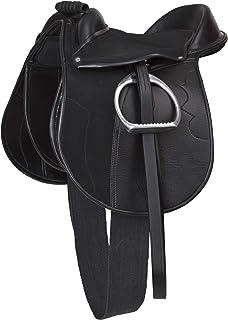 Kerbl Sadeluppsättning Economy Pony, svart, 325415