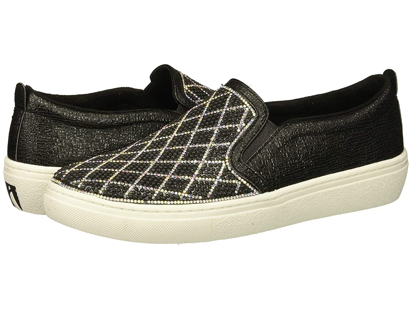 大量忘れっぽい窓レディーススニーカー?ウォーキングシューズ?靴 Goldie - Diamond Darling Black/Silver 5.5 (22.5cm) B [並行輸入品]