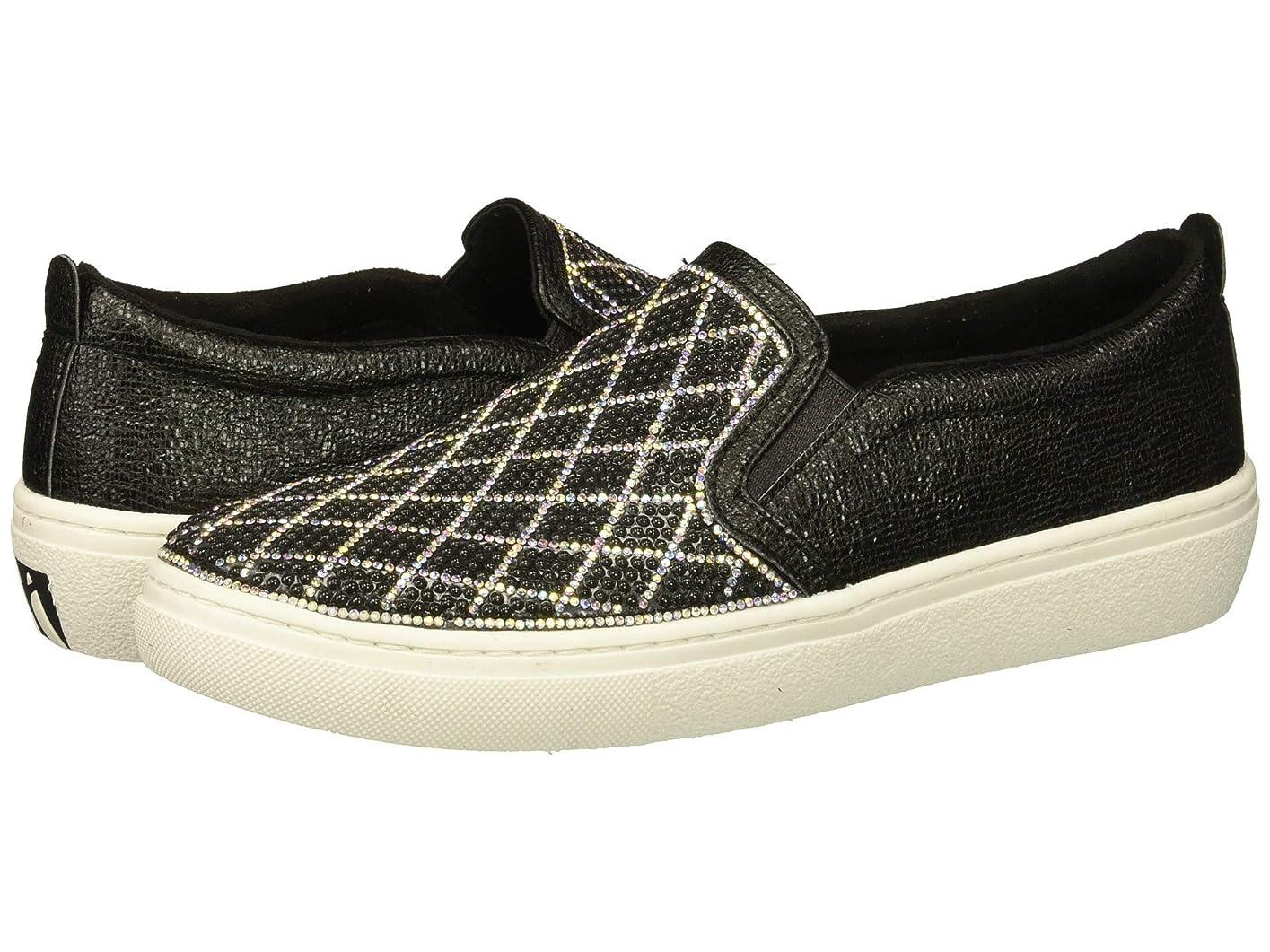 アリーナ挑発する公式レディーススニーカー?ウォーキングシューズ?靴 Goldie - Diamond Darling Black/Silver 9.5 (26.5cm) B [並行輸入品]