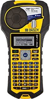 Brady BMP21-PLUS Handheld Label Printer with Rubber Bumpers, Multi-Line Print, 6 to 40 Point Font