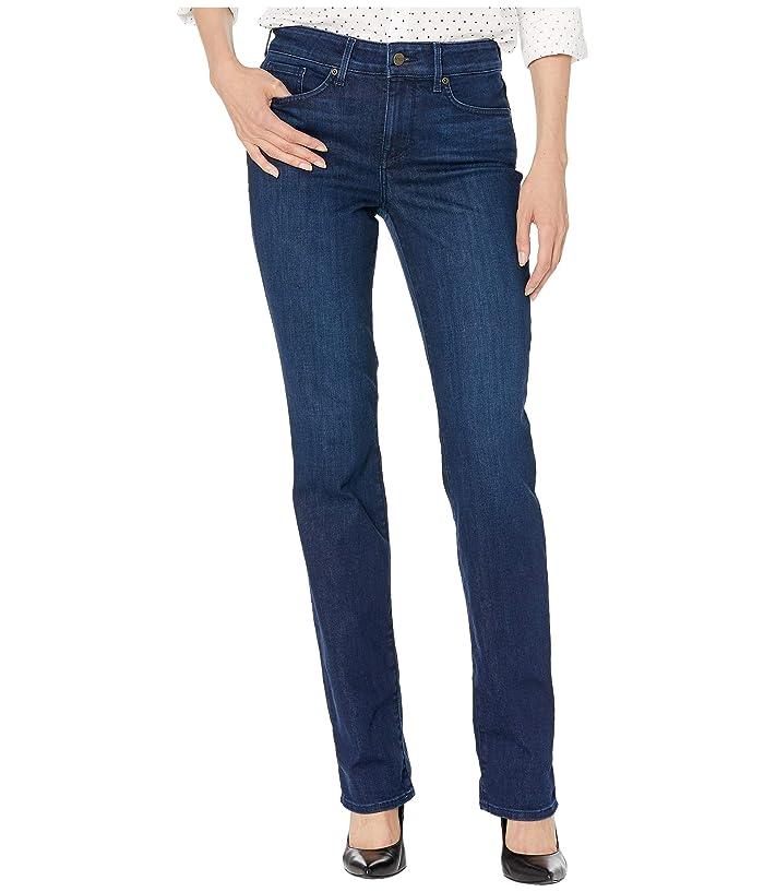NYDJ Marilyn Straight in Denslowe (Denslowe) Women's Jeans