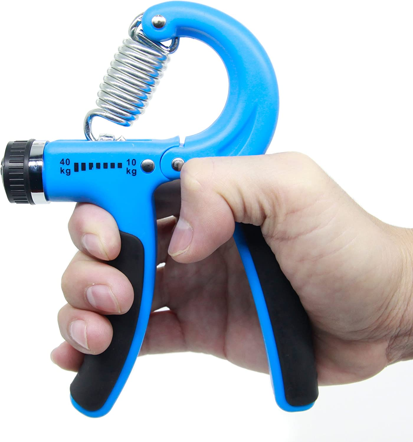 lvh Superior Hand Grip Strengthener Charlotte Mall Adjustable 22-88 Lbs Non-s Resistance