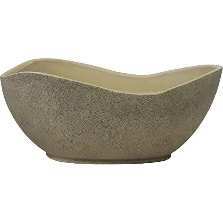Classic Home and Garden 573D-120 Arc Pot Planter, Stone