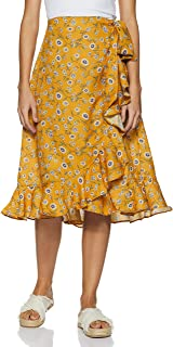FabAlley Georgette a-line Skirt