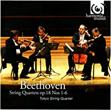 beethoven string quartet op 18
