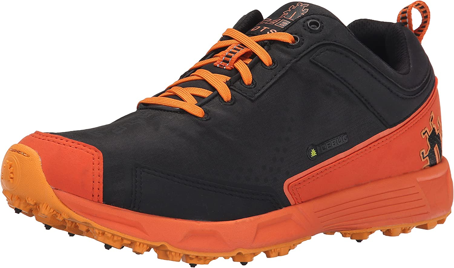 Icebug Men's DTS2 BUGrip Studded Traction Running shoes