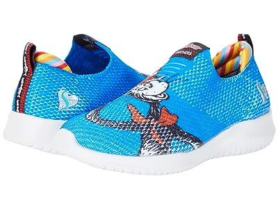 SKECHERS KIDS Sport Dr. Seuss Ultra Flex You Are You 314991L (Little Kid) (Blue/Multi) Girl
