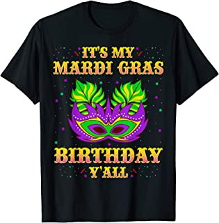 Best mardi gras birthday shirt Reviews