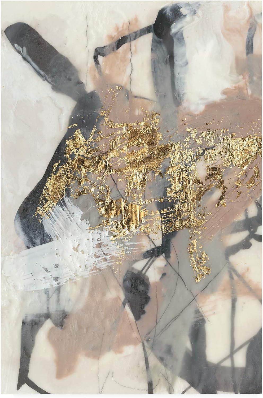 Trademark Fine Art golden bluesh I by Jennifer goldberger, 12x19