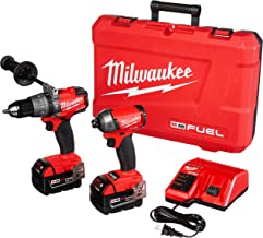 Milwaukee M18 FUEL Hammer Drill and Hydraulic Driver 2-Tool Combo Kit