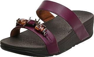 FitFlop Lottie Marble Gem Slides womens Women Fashion Sandals