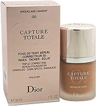 Christian Dior Capture Total Triple Correcting Serum SPF 25 Foundation, No. 020/Light Beige, 1 Ounce