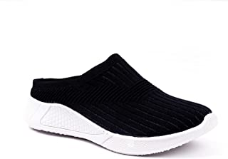 Walkfree Womens Back Open Sports Shoes, Running Shoes, Ideal for Women, Walking, Gym, Trekking, Hiking, Jogging, Comfortab...