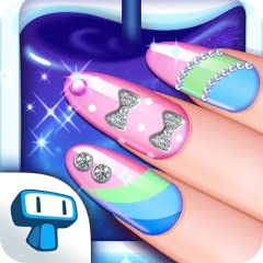 BECOME a great nail artist! PAINT your nails with a myriad of SHADES of nail polish! SHAPE your nails - There are 8 shapes to choose from! CHOOSE different kinds of top coats with beautiful effects ADD rhinestones and beads