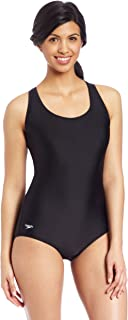 Women's Long Solid Moderate Ultraback PowerFLEX One Piece Swimsuit with Built-in Bra