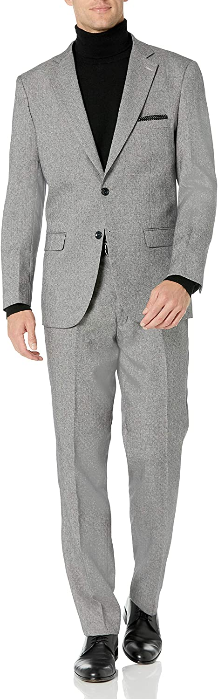 Kitonet Men's 2-Piece Tweed Slim Fit Suit