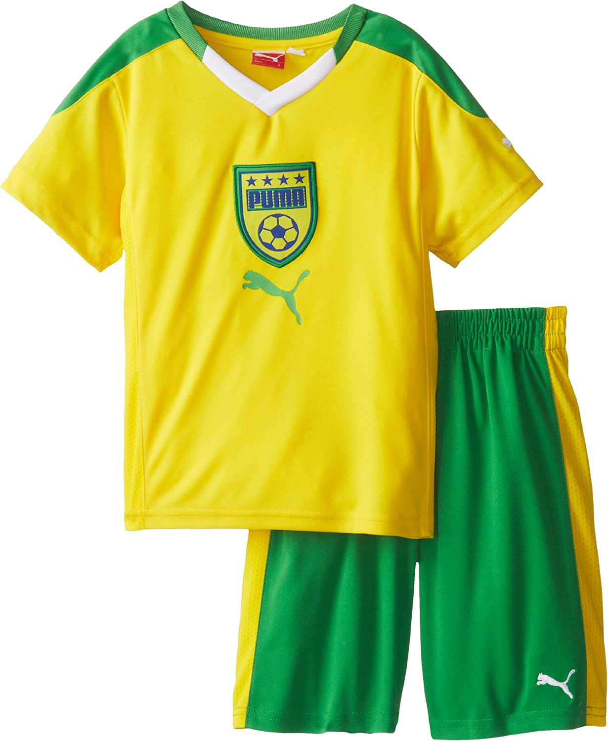 PUMA Little Boys' Country Perforated Set