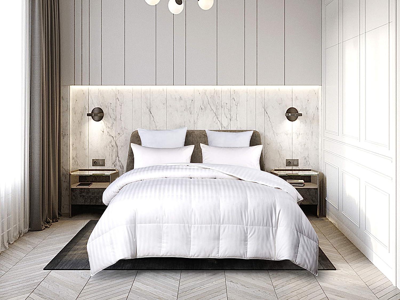 Blue Ridge Home Fashions White 500 スピード対応 全国送料無料 Damask Thread Count 本日限定 Siberian