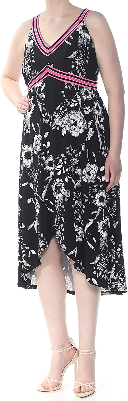 INC Free shipping on posting reviews Womens Plus Printed Sleeveless Midi Dress Max 61% OFF