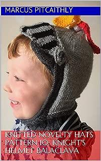 knight helmet knitting pattern