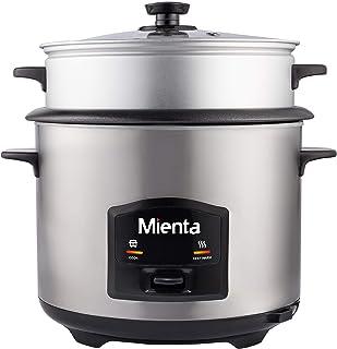 Mienta RC39222A Rice Cooker, 2.2 Liters, 750 Watt - Silver