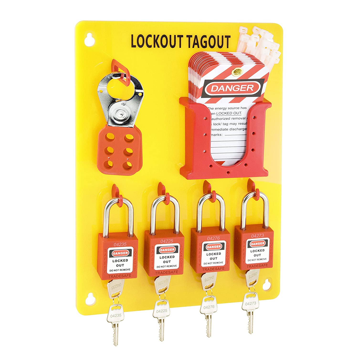 TRADESAFE M Lockout Tagout Station with Out Ranking TOP18 Superior Lock T Loto Devices.