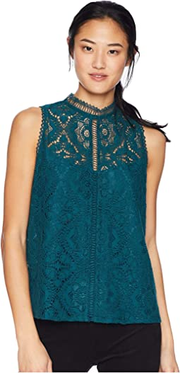 Meet Me In The Medows Lace Tank