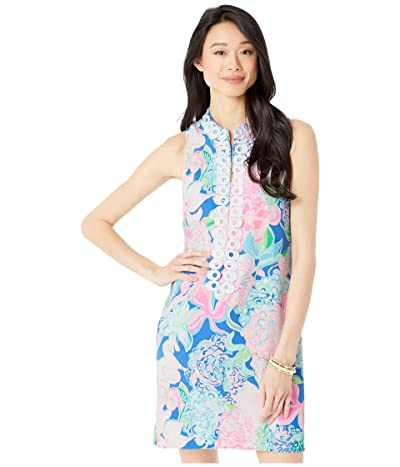 Lilly Pulitzer Jane Shift Dress (Multi Peony For Your Thoughts) Women