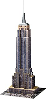 Ravensburger Empire State Building 216 Piece 3D Jigsaw Puzzle for Kids and Adults - Easy Click Technology Means Pieces Fit Together Perfectly