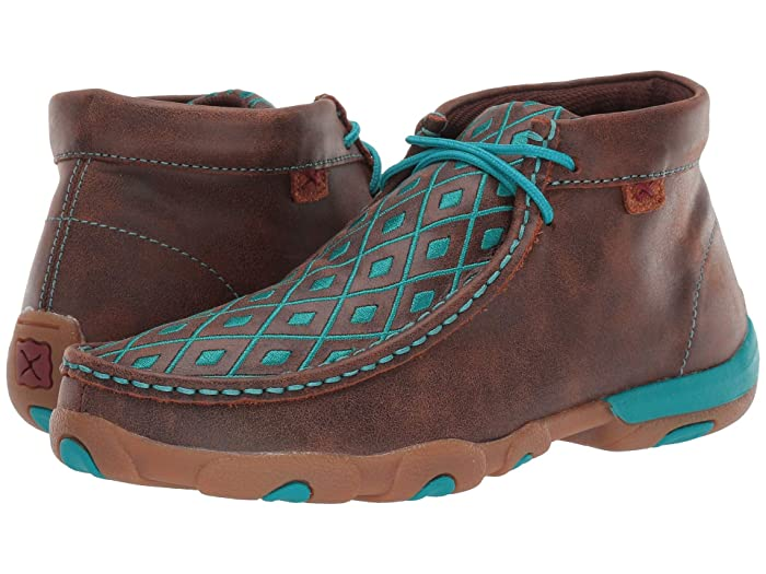 Twisted X  WDM0072 (Bomber/Turquoise) Womens Boots