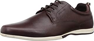 Red Tape Men's Rre0193 Leather Sneakers