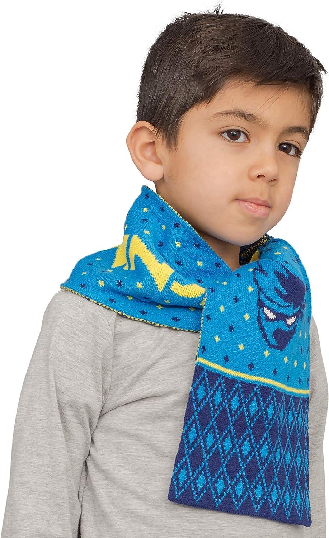 Hand Knitted Baby//Children/'s Boy//Girl Batman Scarf