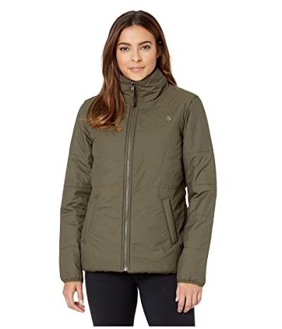 The North Face Merriewood Reversible Jacket (New Taupe Green/New Taupe Green) Women