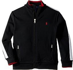 Polo Ralph Lauren Kids - Cotton Interlock Track Jacket (Little Kids/Big Kids)
