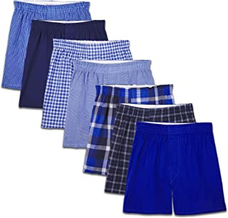 Fruit of the Loom Boys 7PB53TG Woven Boxer (Pack of 7) Underwear - Multi