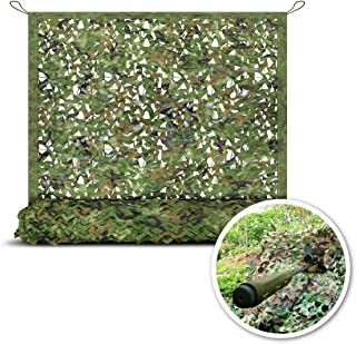 StarQualityBargain Camo Netting - Woodland Military Mesh, Camouflage Mesh Netting, Perfect Camonetting for Camping Shooting Hunting, Military Themed Party Decoration