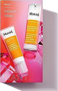 Murad Vibrant Vibes   Age Spot Correcting Serum + Essential-C Moisturizer Broad Spectrum SPF 30 PA+++   2-piece kit