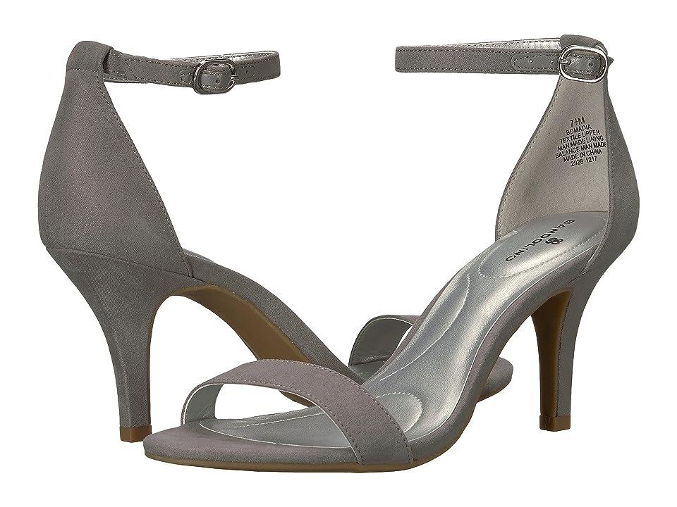 Bandolino Madia (Heather Grey Faux Suede) High Heels