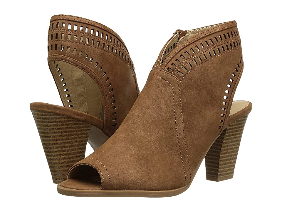 CL By Laundry Rylie (Tan Smooth Nubuck) High Heels