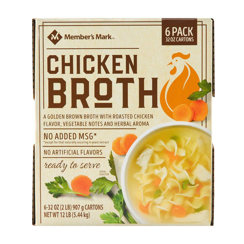 Member's Max 57% OFF Mark Organic Chicken Broth Columbus Mall 32 pk. carton 6 A1 oz.