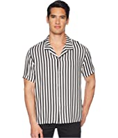 The Kooples - Clean Striped Short Sleeve Shirt