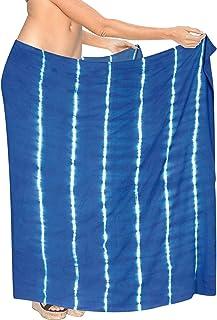LA LEELA Sarong Bikini Couvrir Maillot de Bain Maillots de Bain Maillot de Bain Effrayant Violet Envelopper