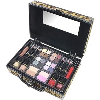 Maletín de Maquillaje Boss Babe Train Case - The Color Workshop - Un Kit de Maquillaje Profesional Completo en un Maletín Fashion para Llevar Siempre Contigo: Amazon.es: Belleza