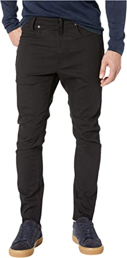 D-Staq 3D Slim in Ita Black Super Stretch Rinsed