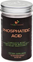 Phosphatidic Acid (PA), 60 Capsules | 400mg Each, Natural Anabolic, Lean Mass Gainer, Muscle Builder, Protein Synthesis Bo...