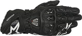 3556717 10 S - Alpinestars GP Pro R2 Leather Motorcycle Gloves S Black