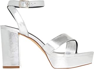by Joyce Azria Isla & Kiara Platform Open Toe Ankle Strap Heeled Sandal