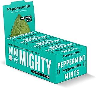 Peppersmith 木糖醇薄荷 优质英国薄荷 25粒15克 (12件装 共300粒)
