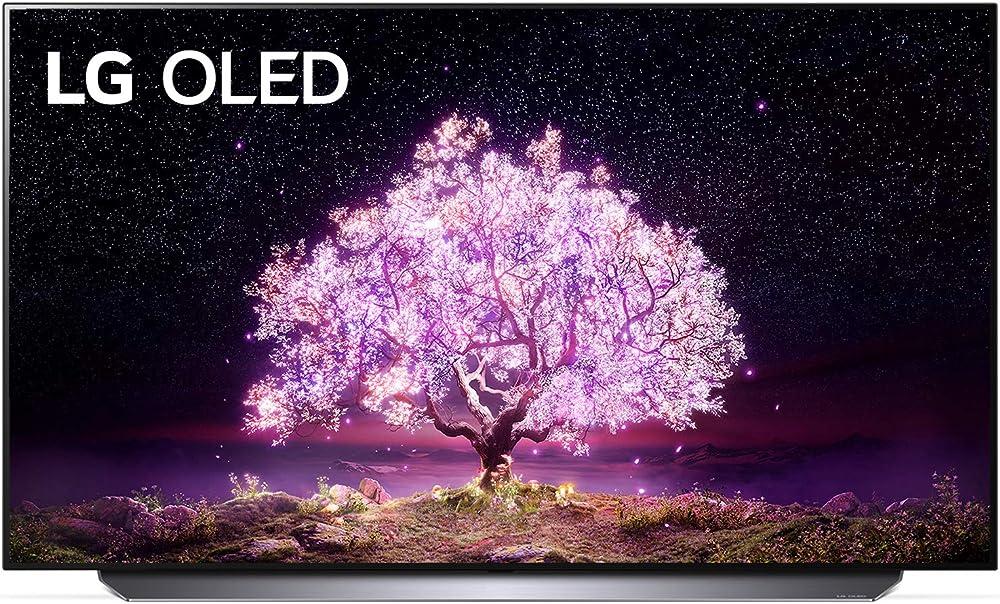Lg smart tv 4k oled 83 pollici serie c1 2021 con processore a9 gen4 dolby vision iq webos 6.0 filmmaker mode OLED65C14LB.APID